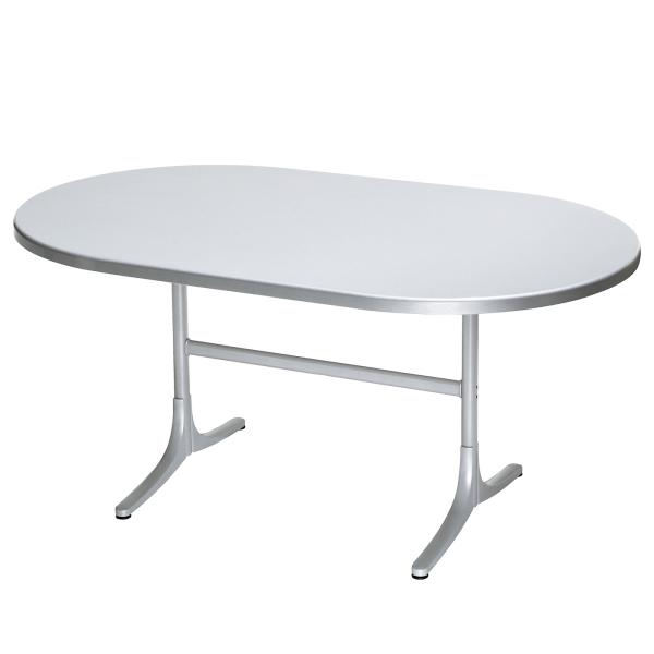 Details: Fiberglass table Schaffhausen oval 160x95