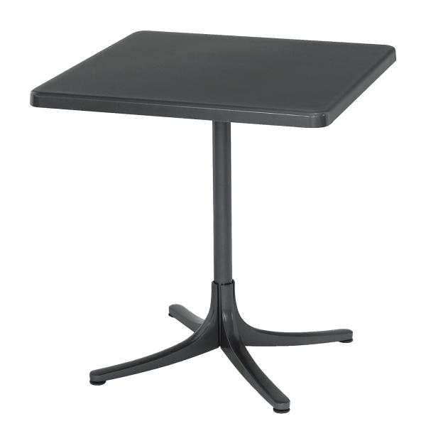 Details: Fiberglass table Schaffhausen 80x80