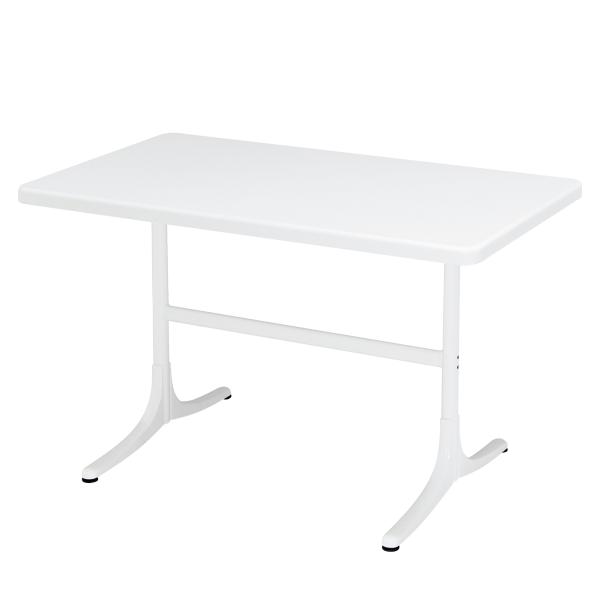Details: Fiberglass table Schaffhausen 120x70