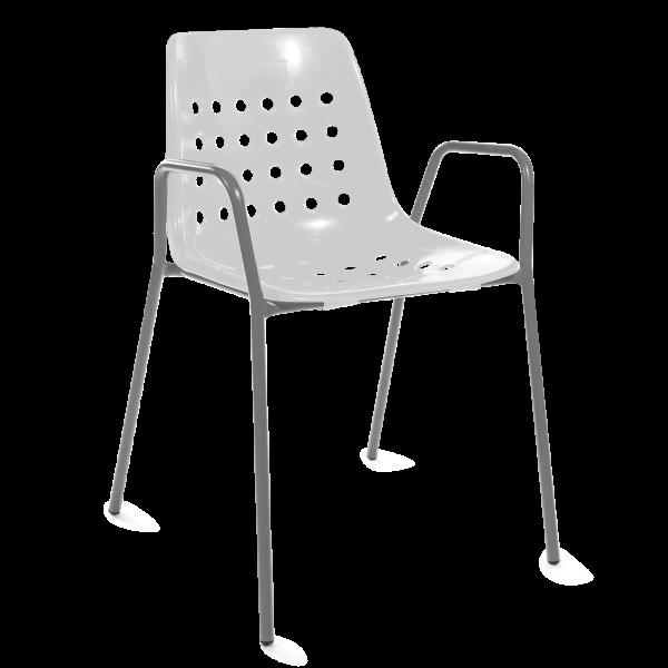 Details: Bermuda with armrest round
