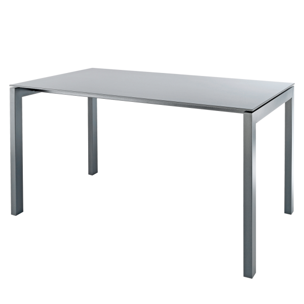 Details: Fiberglass table Luzern 140x80