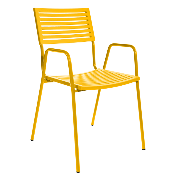 Details: Lamello with armrest