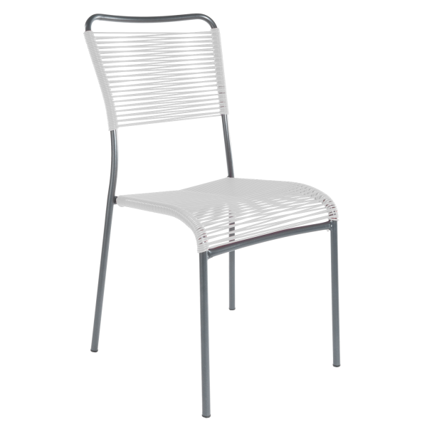 Details: «Spaghetti» chair Mendrisio without armrest