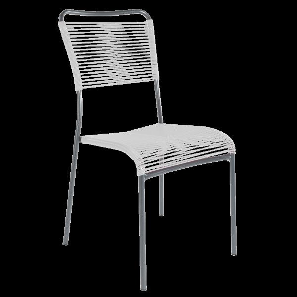 Details: Chaise à «spaghetti» Mendrisio sans accoudoir