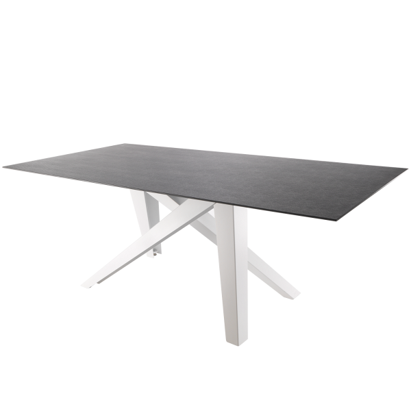 Details: Fiberglass table Mythen 160x90