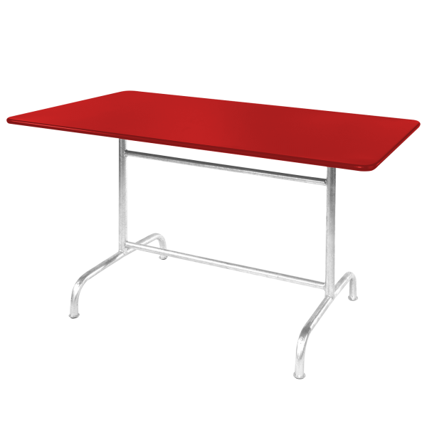 Details: Metal table Rigi 180x80