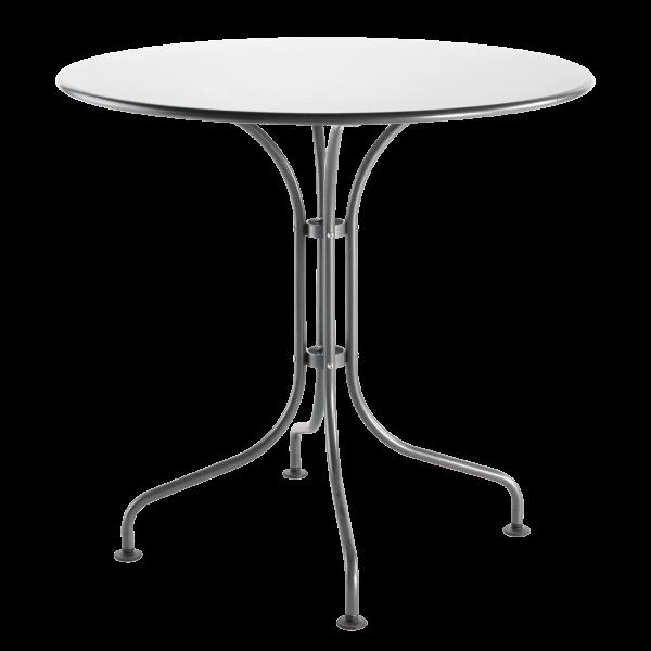 Details: Metal table St. Moritz ø90
