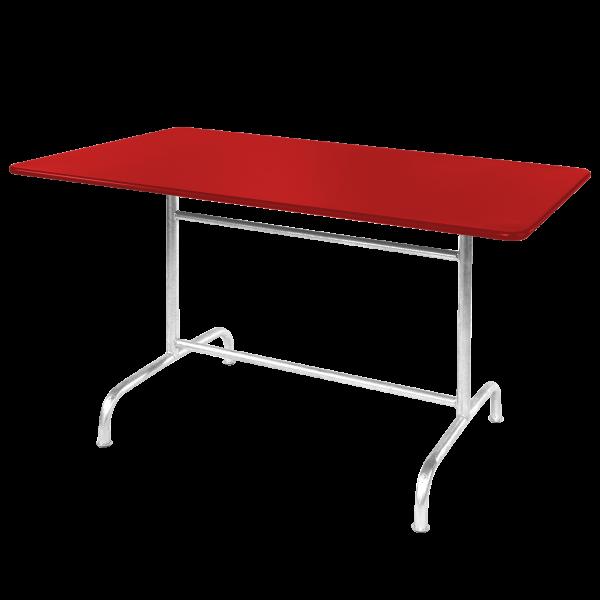 Details: Metal table Rigi 180x90