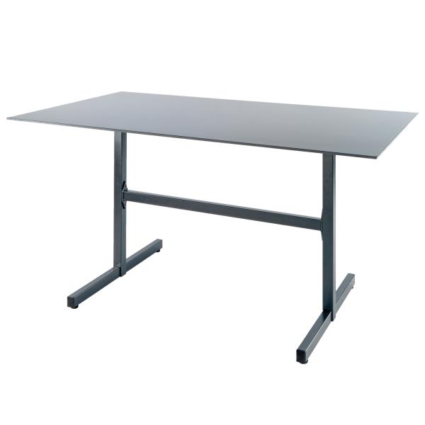 Details: Table en fibre de verre Basel 120x80
