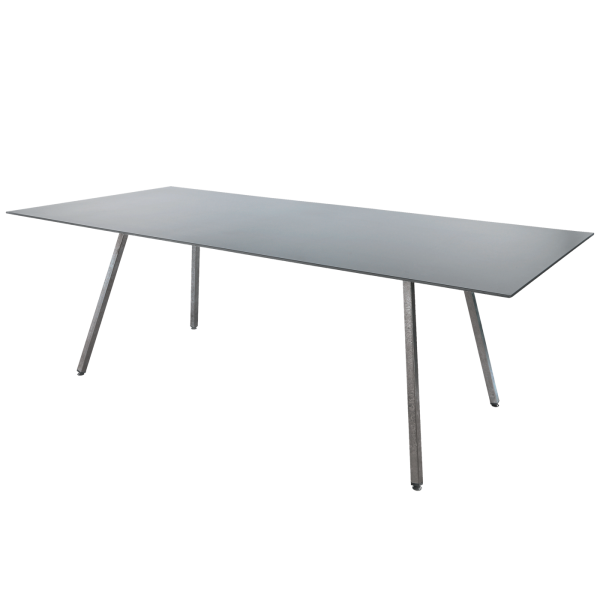 Details: Fiberglass table Chur 160/220x90 extendable
