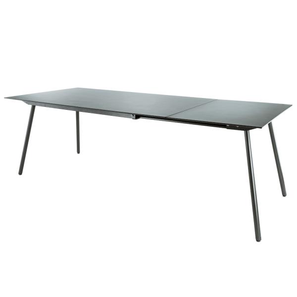 Details: Fiberglass table Locarno 160/220x90 extendable