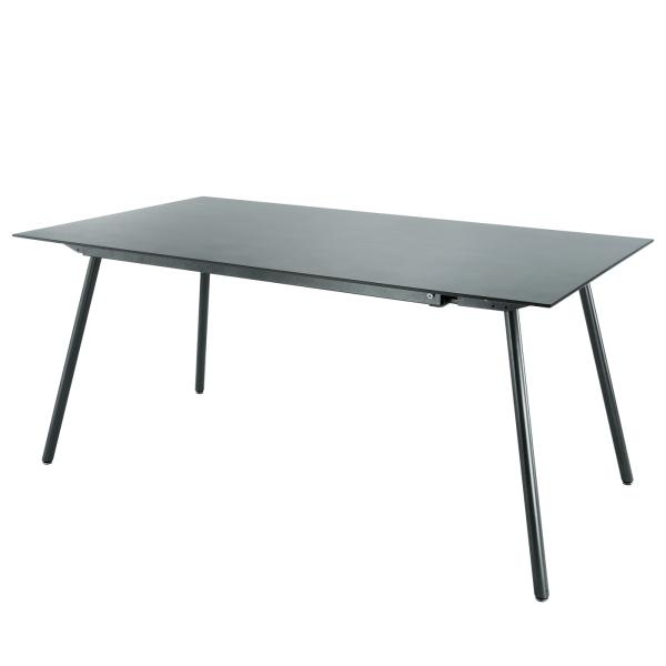 Details: Fiberglass table Locarno 160x90