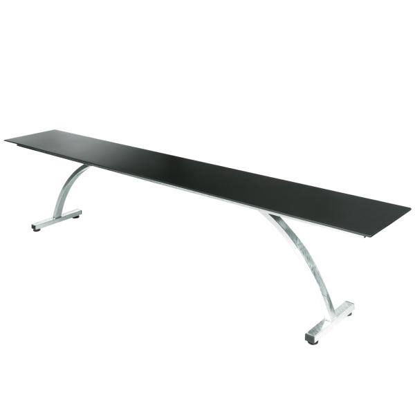 Details: Fiberglass bench Bernardino 220x32
