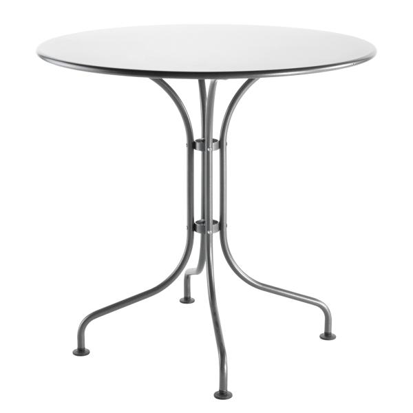Details: Metal table St. Moritz ø80