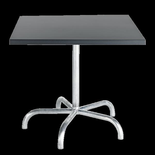 Details: Metal table Säntis 80x80