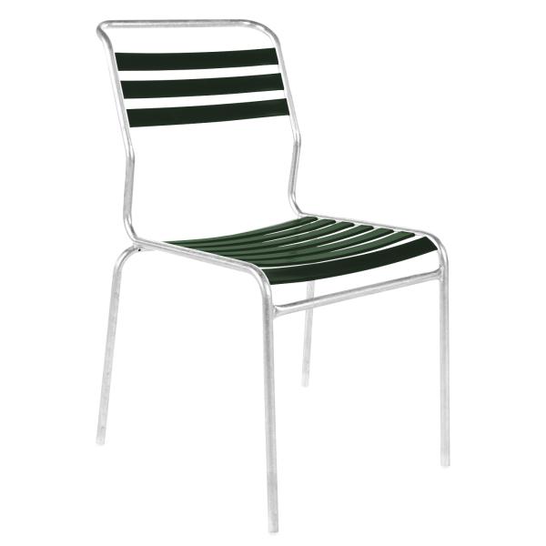 Details: Chaise à lattes sans accoudoir