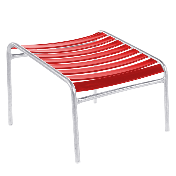 Details: Säntis slat stool
