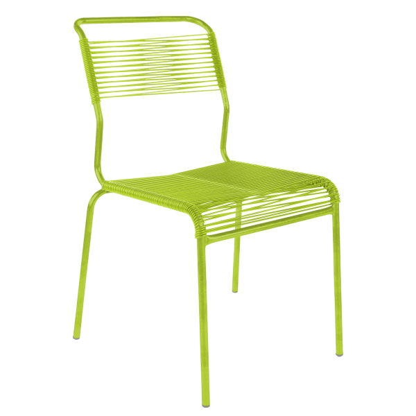 Details: «Spaghetti» chair Säntis without armrest