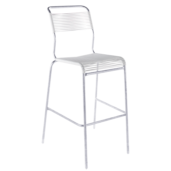 Details: «Spaghetti» bar stool Säntis without armrest