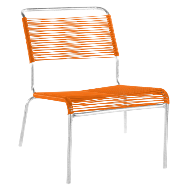 Details: «Spaghetti» lounger Säntis without armrest