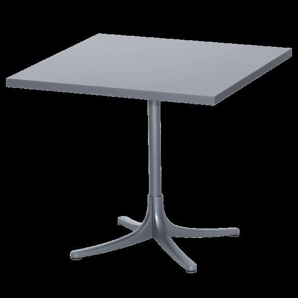 Details: Metal table Arbon 80x80