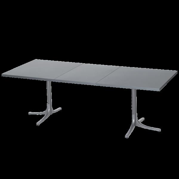 Details: Metal table Arbon 160/218x90 extendable