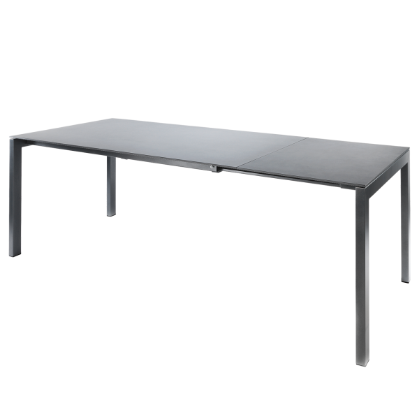Details: Table en fibre de verre Luzern 160/220x100 extensible